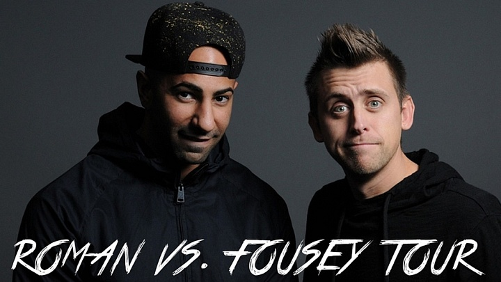51f46b71101 YouTubers Roman Atwood   FouseyTUBE Announce Tour - RoccoReport